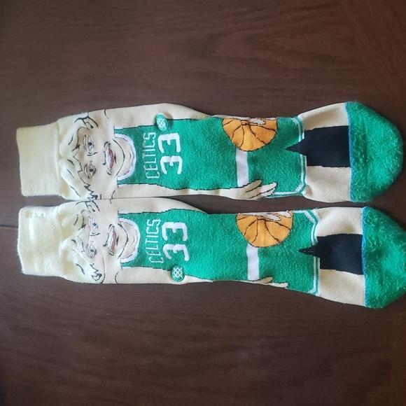 Stance socks, Larry bird Celtics socks
